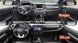 ford ranger interior benim otomobilim 2016 toyota hilux revo vs 2016 ford ranger wildtrak