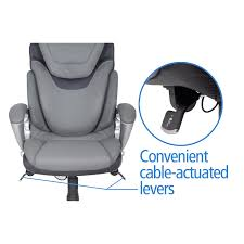 Serta Office Chair Review Serta At Home 43807 Air Health And Wellness Executive Office Chair