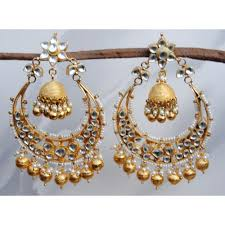 chandbali earrings buy chand bali earrings online at orne jewels