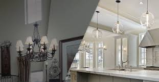New Light Fixtures Lighting Showroom Wichita The Right Size And Height
