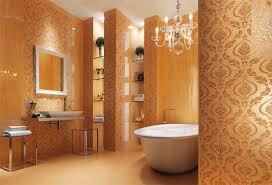 wallpaper designs for bathroom fabulous bathroom interiors homedee