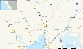 Map Of Sonoma County California State Route 121 Wikipedia