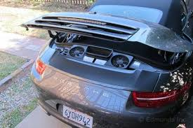 porsche 911 engine engine bay access 2013 porsche 911 cabriolet term