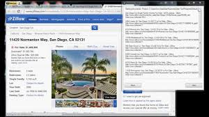 how to scrape data from a real estate web site youtube