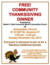 master s table community meals ansonia ct