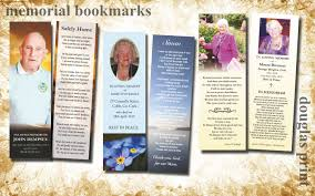 memorial bookmarks memorial cards douglas print printers cork