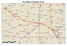 Virginia Capital Trail Map by Illinois Ohio Indiana Michigan Wisconsin Historic Roads Paths