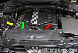 pelican technical article bmw x3 oil leak diagnosis