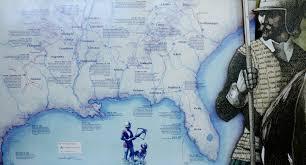 Hernando De Soto Route Map by De Soto National Memorial Hernando De Soto