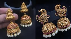 artificial earrings artificial temple jewellery jhumkas where to shop them