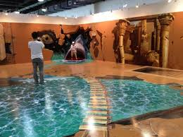 3d magic special paintings exhibition of china 2012 14