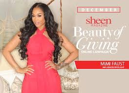 mimi faust hairstyles sheen magazine beauty of giving influencer spotlight mimi faust