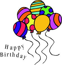 free birthday free happy birthday balloon clip art 2 clipartix