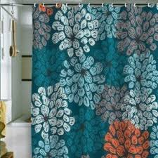 Turquoise And Grey Shower Curtain Teal Shower Curtain Foter