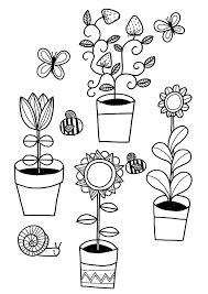 planting coloring pages