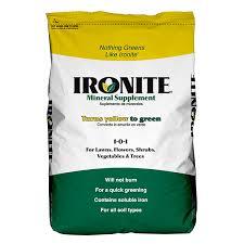 Fertilizer For Flowering Shrubs - ironite mineral supplement 1 0 1 lawn u0026 grass fertilizers
