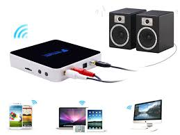 home theater adapter wifi wireless streamer stereo music receive adapter airplay dlna