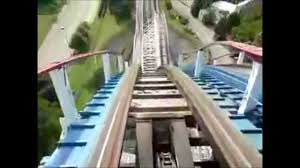 6 Flags In Chicago Chicago Six Flags Theme Park First Row Seats All Rides Tour Youtube