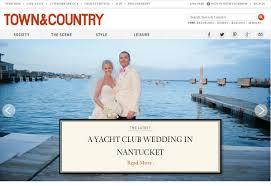 nantucket wedding featured on town u0026 country meg simone wedding