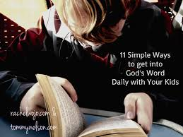 11 simple ways to get into god u0027s word daily with your kids tommy
