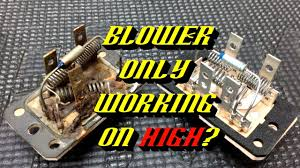 ford quick tips 68 blower motor resistor failures testing and