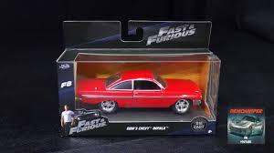 model car toy 1 32 fast u0026 furious 8 dom u0027s 1961 chevy impala jada toys 1 32