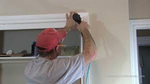 how to install window u0026 door trim casing youtube