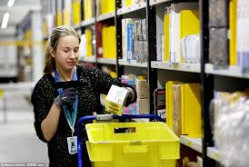 is amazon crashing black friday amazon u0027s warehouse prepares for black friday orders daily mail