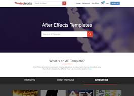 onde encontrar templates para after effects listas techtudo