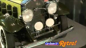 car room tv 1930 cadillac v16 roadster youtube