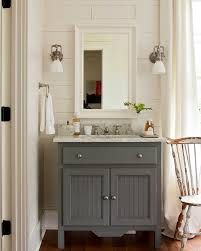gray bathroom vanity cottage bathroom southern living