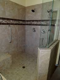21 shower remodel custom tiled shower replaces pre fab