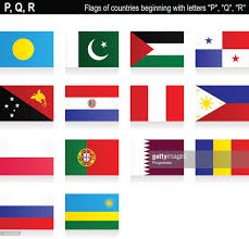 Flags Of Countries Flags Of Countries P Q R Vector Art Getty Images