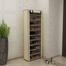 covered shoe rack ebay