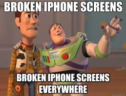 Broken Phone Meme - broken iphone meme broken iphone meme free a million funniest