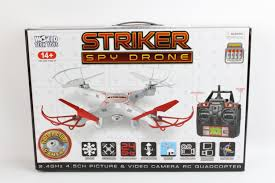 amazon black friday rc amazon com striker 2 4ghz 4 5ch rc spy drone toys u0026 games