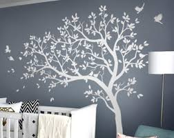 Tree Decal For Nursery Wall Nursery Tree Decal Etsy
