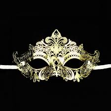 gold masquerade mask gold venetian design mardi gras metal masquerade mask dress up