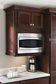 kitchen cabinet microwave built in a wall built in microwave cabinet keeps counter clear and is