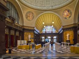 Foyer by File Kurhaus Foyer Parkseite Wiesbaden Jpg Wikimedia Commons