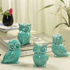 Owl Home Decor Aliexpress Com Buy Ceramic Handicrafts Modern Owls Statue Living
