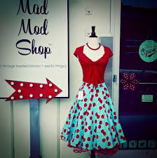 retro fashion for real women at mad mod shop