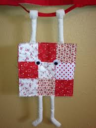 runaway quilt block hanging in there to greet you with a smile