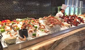 All You Can Eat Lobster Buffet by The Market Kitchen Four Seasons Hotel Seoul South Korea