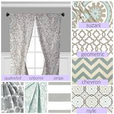 Blue Window Curtains by Powder Blue Gray Window Treatments Grey Curtain Panels Drapery
