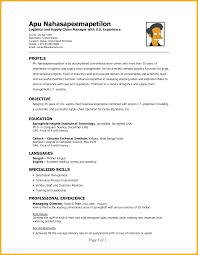 Loss Mitigation Resume Logistics Controller Cover Letter