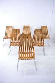 Danish Chairs Uk 6 Rosewood Scandia Chairs By Hans Brattrud