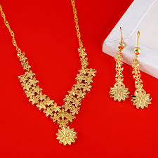 wedding necklace gifts images 22k gold ethiopian jewelry sets for bride wedding necklace jpg