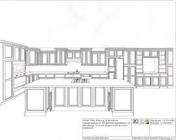 Island Kitchen Plan Kitchen Elevation Perspective Sketch Pinterest Kitchens
