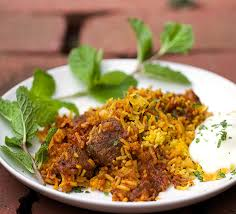 biryani cuisine indian biryani casserole of tender curry and fragrant